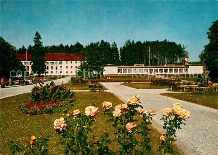 AK / Ansichtskarte Bad_Tatzmannsdorf_Burgenland Kurhotel mit Kurmittelhaus Bad_Tatzmannsdorf