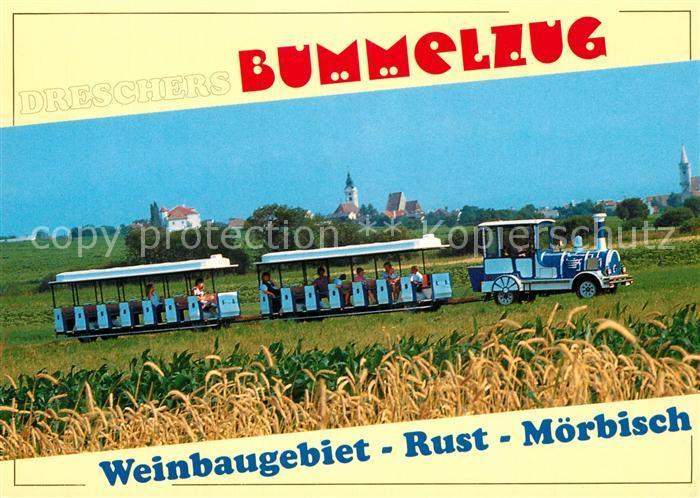 AK / Ansichtskarte Moerbisch_See Dreschers Bummelzug  Moerbisch See