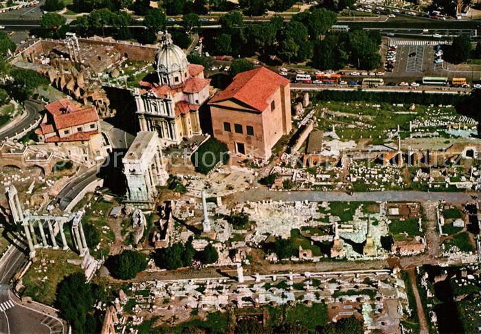 AK / Ansichtskarte Roma_Rom Fliegeraufnahme Roemischer Gerichtshof Roma_Rom