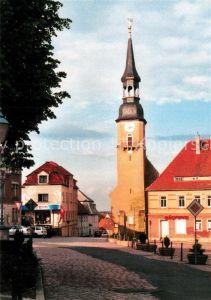 AK / Ansichtskarte Nossen Markt Kirche Nossen