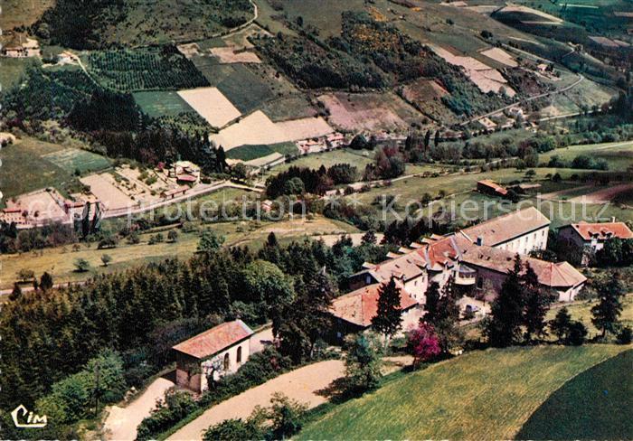 AK / Ansichtskarte Saint Clement sur Valsonne Maison de Retraite vue aerienne Saint Clement sur Valsonne