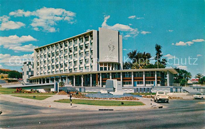 AK / Ansichtskarte Windhoek Municipal Offices Rathaus Windhoek
