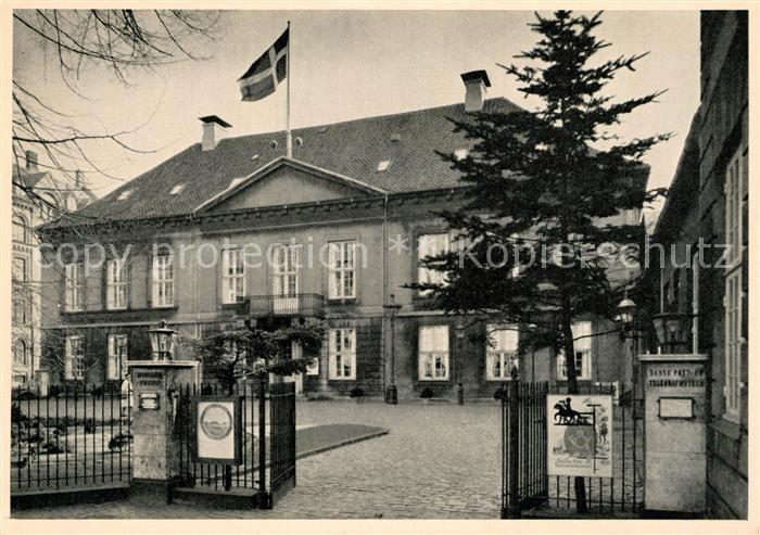 AK / Ansichtskarte Kobenhavn Bymuseum Vesterbrogade Kobenhavn
