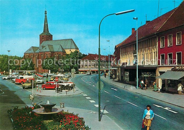 AK / Ansichtskarte Geldern Markt Kirche Geldern