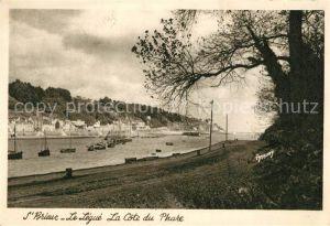 AK / Ansichtskarte Saint Brieuc_Cotes d_Armor Cote du Phare Saint Brieuc_Cotes d