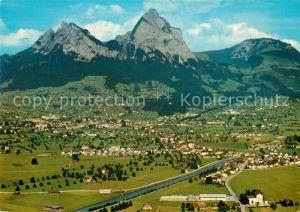 AK / Ansichtskarte Schwyz und die Mythen Schwyz