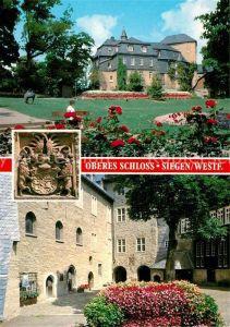 AK / Ansichtskarte Siegen_Westfalen Oberes Schloss  Siegen_Westfalen