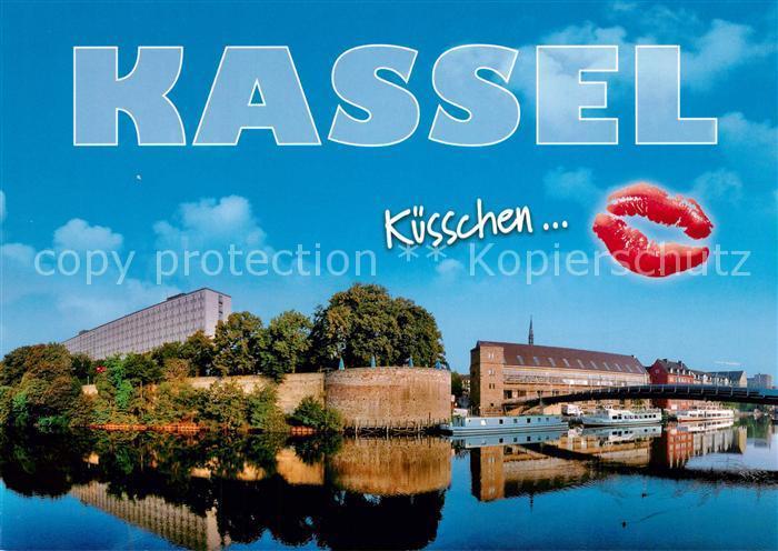 AK / Ansichtskarte Kassel Fuldapartie Kuesschen Kassel