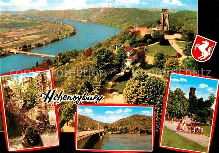 AK / Ansichtskarte Hohensyburg Fliegeraufnahme  Hohensyburg