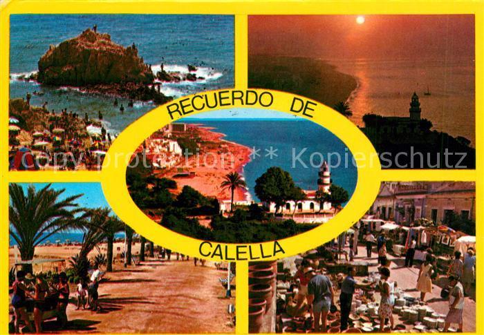 AK / Ansichtskarte Calella  Calella