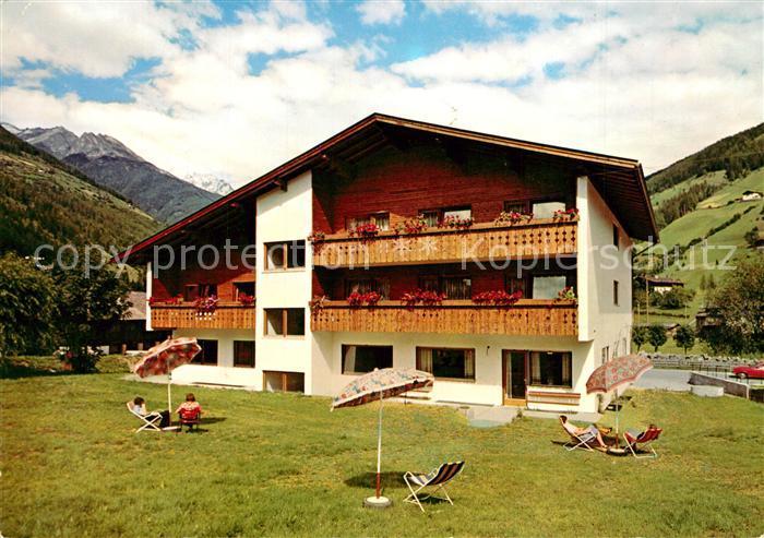 AK / Ansichtskarte Luttach_Ahrntal_Suedtirol Pension Tiroler Adler Alpen Luttach_Ahrntal_Suedtirol