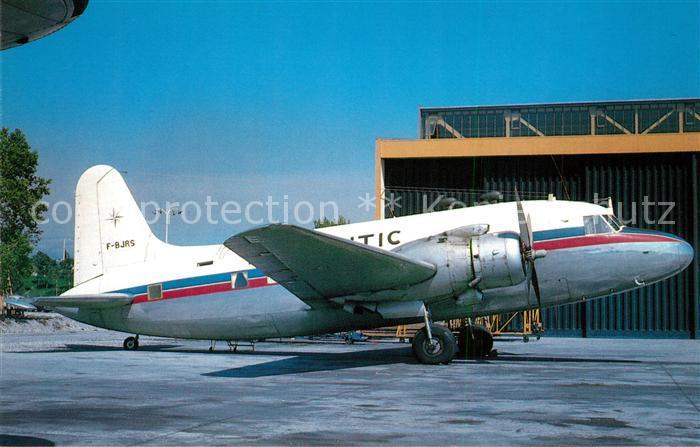 AK / Ansichtskarte Flugzeuge_Zivil Airnautic Vickers Viking 3B F BJRS c n 264 Flugzeuge Zivil