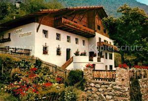 AK / Ansichtskarte Algund_Merano Gasthaus Oberlechner Algund Merano