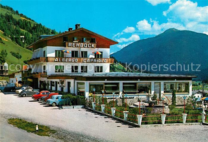 AK / Ansichtskarte Innichen_Suedtirol Albergo Capriolo Gasthof zum Rehbock Innichen Suedtirol