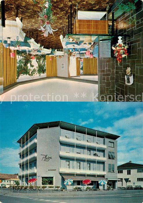 AK / Ansichtskarte Kreuzlingen_TG Hotel Plaza Kreuzlingen TG