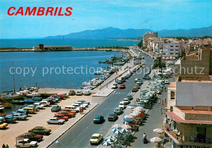 AK / Ansichtskarte Cambrils Detalle del Puerto Cambrils