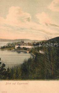 AK / Ansichtskarte Tegernsee Panorama Kloster Tegernsee