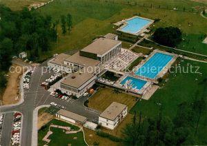 AK / Ansichtskarte Obertshausen Waldbad Schwimmbad Freibad Fliegeraufnahme Obertshausen