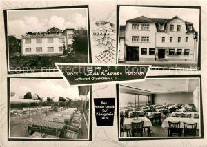 AK / Ansichtskarte Glashuetten_Taunus Hotel Pension Zur Krone Restaurant Terrasse Glashuetten_Taunus