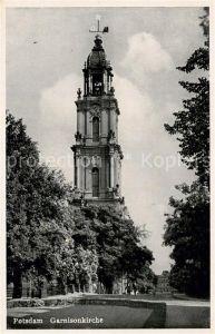 AK / Ansichtskarte Potsdam Garnisonkirche Potsdam