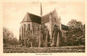 AK / Ansichtskarte Chorin Kloster Chorin Chorin
