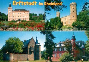 AK / Ansichtskarte Erftstadt Schloss Gracht Landesburg Lechenich Burg Konradsheim Erftstadt