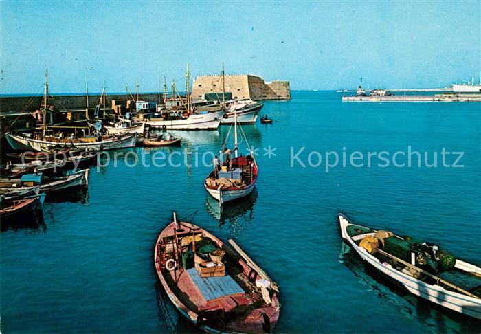 AK / Ansichtskarte Heraklion Alter Hafen Heraklion