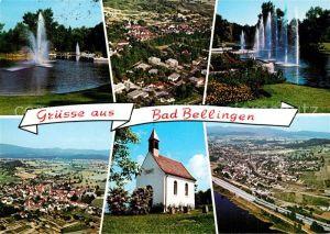 AK / Ansichtskarte Bad_Bellingen Fliegeraufnahme Bamlach Rheinweiler Bad_Bellingen