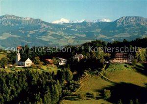 AK / Ansichtskarte Menzberg Hotel Kurhaus Menzberg Fliegeraufnahme Menzberg