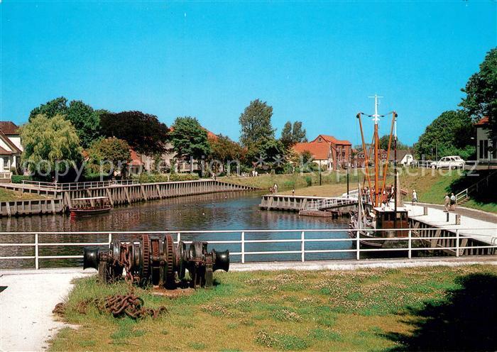 AK / Ansichtskarte Carolinensiel Harlesiel_Ostfriesland Alter Hafen Carolinensiel Harlesiel