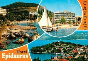 AK / Ansichtskarte Cavtat_Dalmatien Hotel Epidaurus Cavtat Dalmatien