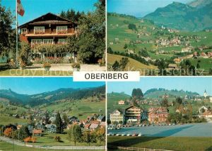 AK / Ansichtskarte Oberiberg Fliegeraufnahme Panoramen Oberiberg