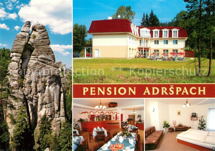 AK / Ansichtskarte Dolni Pension Adrspach Dolni
