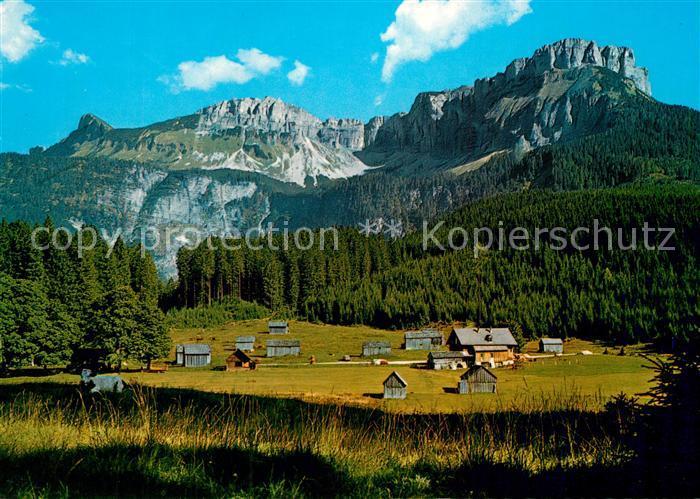 AK / Ansichtskarte Altaussee Blaa Alm Loserkette  Altaussee
