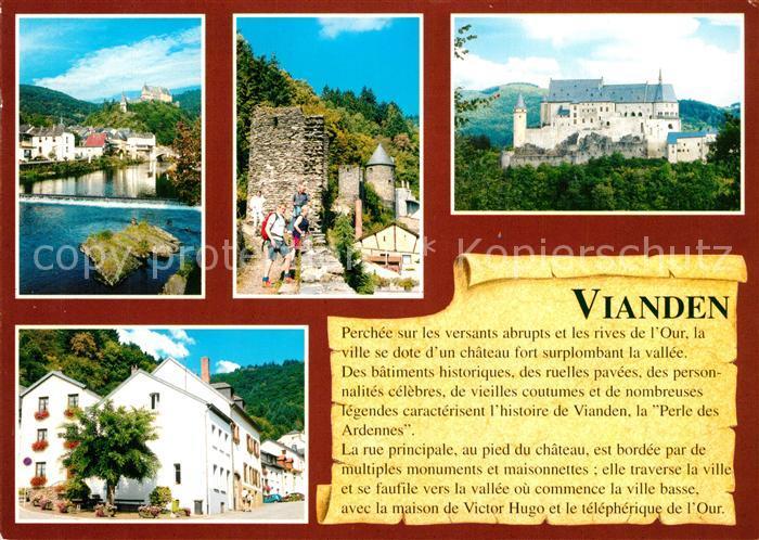 AK / Ansichtskarte Vianden  Vianden