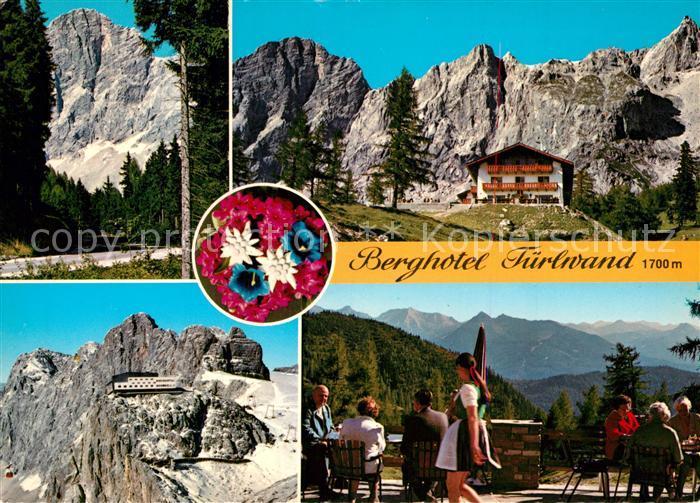 AK / Ansichtskarte Dachstein_Steiermark Berghotel Tuerlwand Dachstein_Steiermark