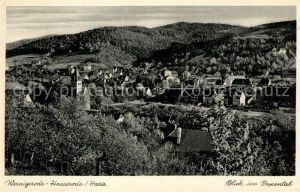 AK / Ansichtskarte Wernigerode Hasserode Blick ins Papental Wernigerode Hasserode