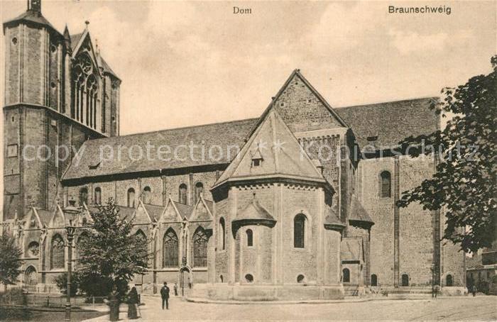 AK / Ansichtskarte Braunschweig Dom Braunschweig
