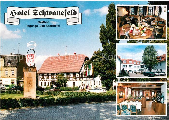 AK / Ansichtskarte Meerane Hotel Schwanfeld Meerane