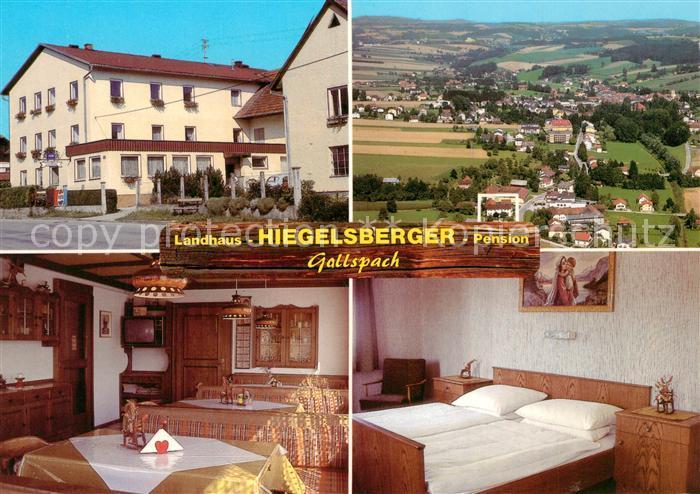 AK / Ansichtskarte Gallspach Landhaus Hiegelsberger Pension Gallspach