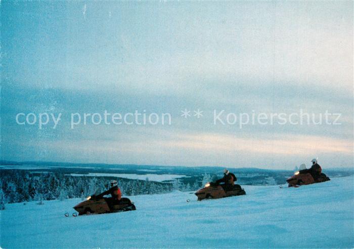 AK / Ansichtskarte Finnland Muonio Finnland
