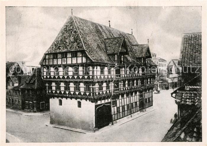 AK / Ansichtskarte Braunschweig Alte Waage Braunschweig