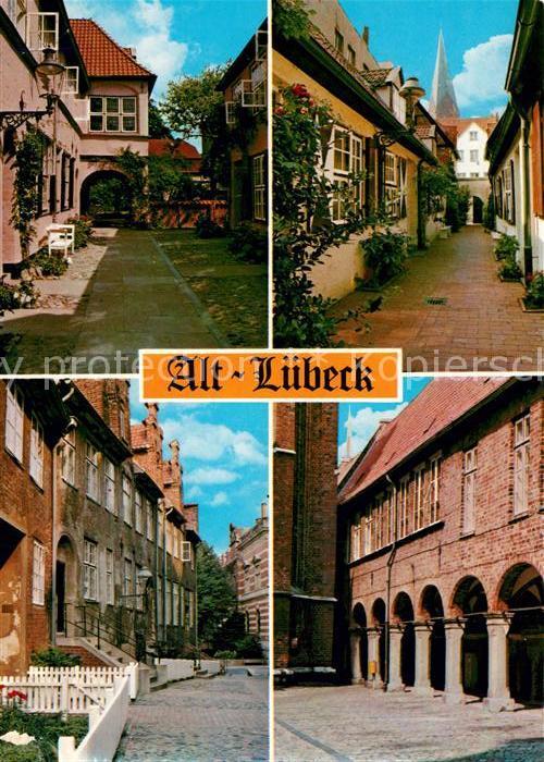 AK / Ansichtskarte Alt_Luebeck Stadtansichten