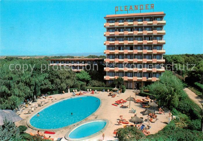 AK / Ansichtskarte Playa_de_Palma_Mallorca Hotel Oleander Swimming Pool Playa_de_Palma_Mallorca