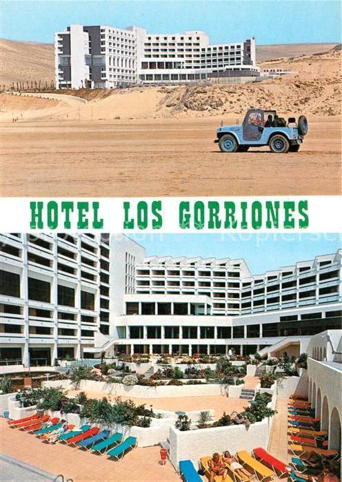AK / Ansichtskarte Jandia Hotel Los Gorriones Jandia