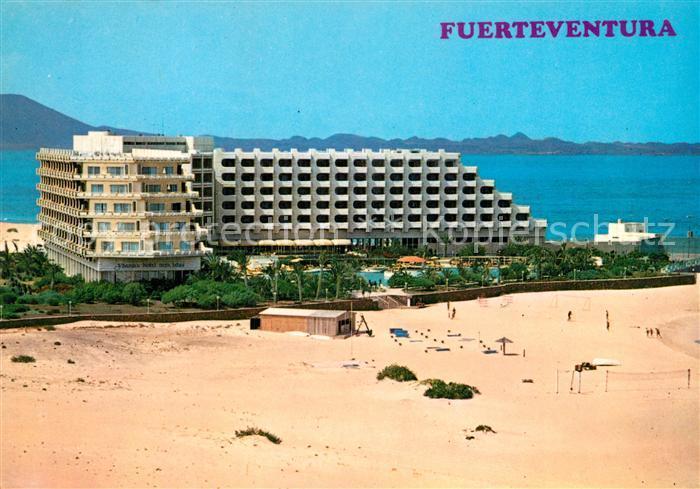 AK / Ansichtskarte Corralejo Hotel Tres Islas vista aerea Corralejo