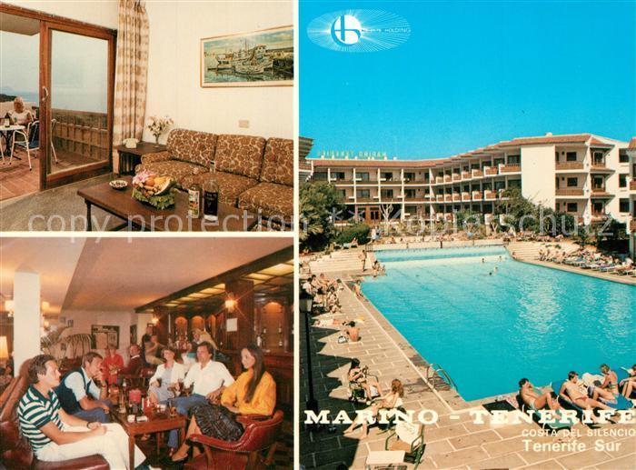 AK / Ansichtskarte Las_Galletas Hotel Restaurant Swimming Pool Las_Galletas
