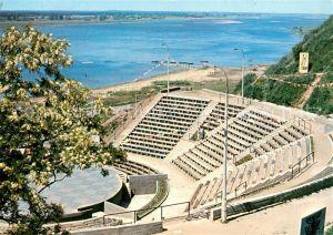 AK / Ansichtskarte Plock Amfiteatr Amphitheater Weichsel Plock