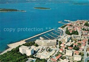 AK / Ansichtskarte Biograd Hoteli Ilirija Fliegeraufnahme Biograd