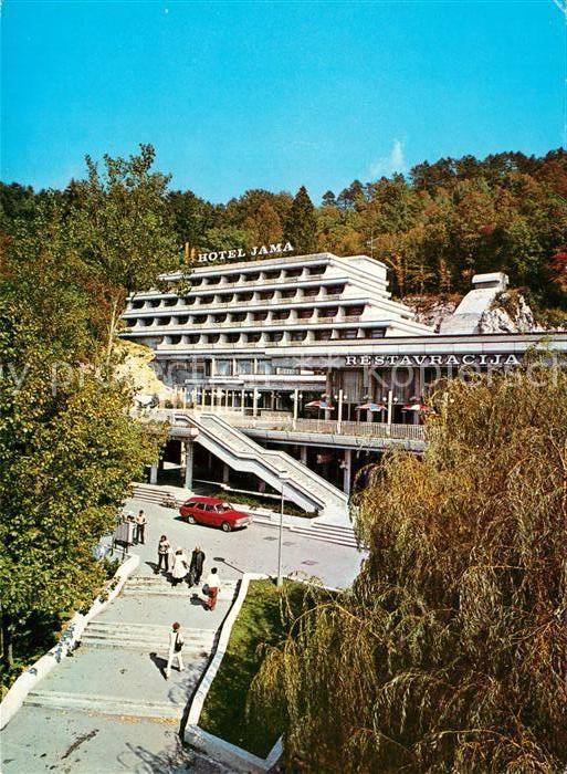 AK / Ansichtskarte Postojna Hotel Jama Postojna
